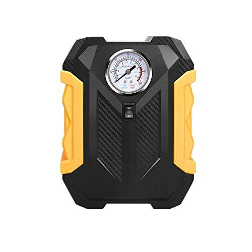 Hinchador Electrico Compresor Coche Inflador automático de neumáticos Digital Herramienta de aire Inflador de neumáticos Pointer,One Size