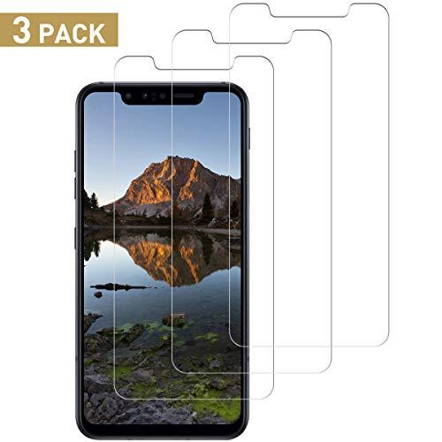 SNUNGPHIR Protector de Pantalla para LG G8s ThinQ, 3 Pack Vidrio Templado [9H Dureza] HD Transparente Resistente Arañazos [No Burbujas] Film Cristal Templado para LG G8s ThinQ