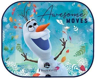 RAE Disney Die Eiskönigin Autozubehör Seitenmarkise mit Saugnapf Disney Frozen Elsa Olaf Anna - 2 verschiedene Designs!