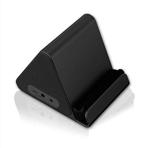 Kaper Go Tragbare Drahtlose Bluetooth-Lautsprecher Mini Bluetooth-Lautsprecher 1000mAH Hohe Kapazität Für Home Travel Beach Perfekt Für Kinder, Party, Schlafzimmer (Farbe: SCHWARZ) (Color : Black)