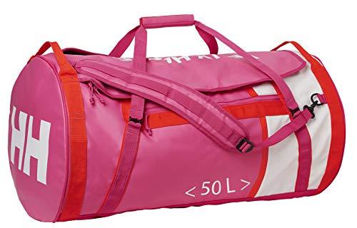Helly Hansen Waterproof Duffel Bag, Unisex Adultos, Rosa (Dragon Fruit), 65x40x65 cm (W x H x L)