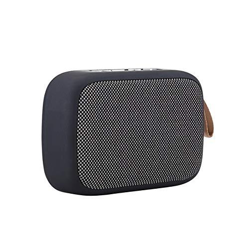 Altavoz Bluetooth inalámbrico portátil al Aire Libre Soporte estéreo Tarjeta Bluetooth TF USB SD para Tableta con teléfono Inteligente Estados Unidos Gris