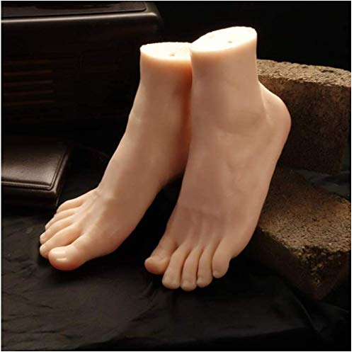 AMITD Simulation Männlich Lifesize Bein Fuß Mannequin Schuhe Socken Shooting Display Requisiten Art Sketch Nail