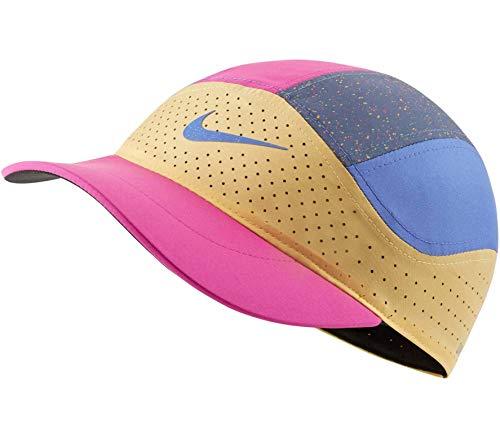 Nike Aerobill Tailwind QS Running - Gorro para mujer, 5 paneles, color...