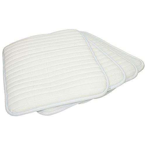 Epplejeck Bandagierunterlagen Bloom 4er-Set- White