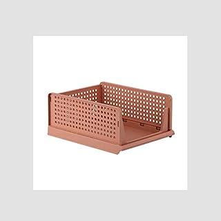 Boîte de Rangement Pliable/Panier de conteneur de Stockage empilée, boîte de Rangement de la Chambre à Coucher, boîte de R...