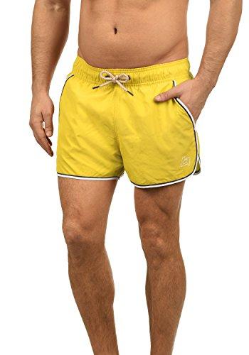 Blend Balderian Herren Badehose Badeshorts Schwimmshorts Mit Kordel, Größe:XL, Farbe:Yellow Sun (72515)