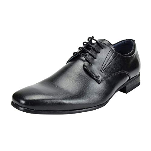 Gray Leather Dress Shoes for Men