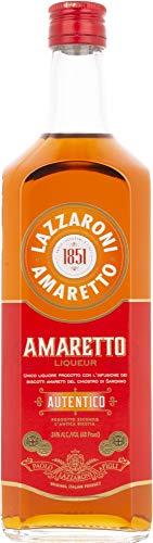Lazzaroni AMARETTO Liqueur Autentico 24% - 1000 ml