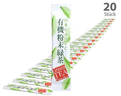 tea4chill 20Stk Japan Matcha Sticks to go. Für unterwegs und speziell für Matcha-Shaker und Matcha-Flaschen. Premium Qualtiät.