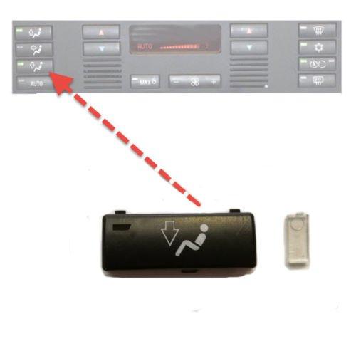 Pour 5 E39 X5 E53 - Pièce de commande de climatisation - Bouton de ventilation inférieur