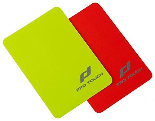 Pro Touch Schiri-Karten Set Schirikarten, Rot/Gelb, One Size