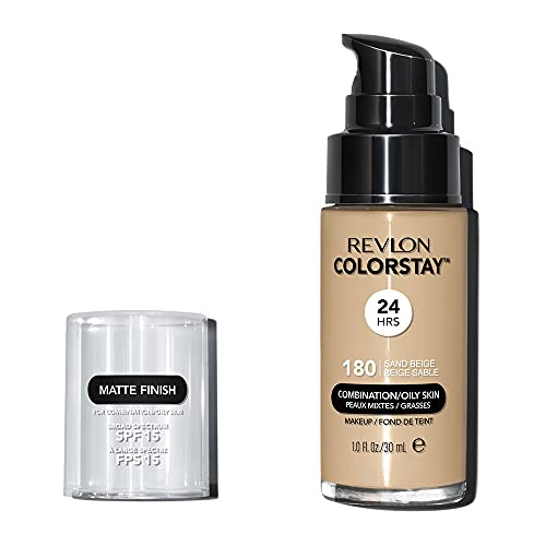 Revlon ColorStay Makeup for Combi/Oily Skin Sand Beige 180, 1er Pack (1 x 30 ml)