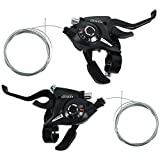 Yaesport New MTB Bicycle Bike 3 x 7 Speed Shift/Shifter Brake Lever Combo