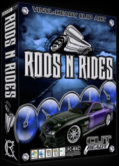 Rods N Rides Vehicle Vector Clipart Vinyl Cutter Slgn Design Artwork-EPS Vector Art Software plotter Clip Art Images