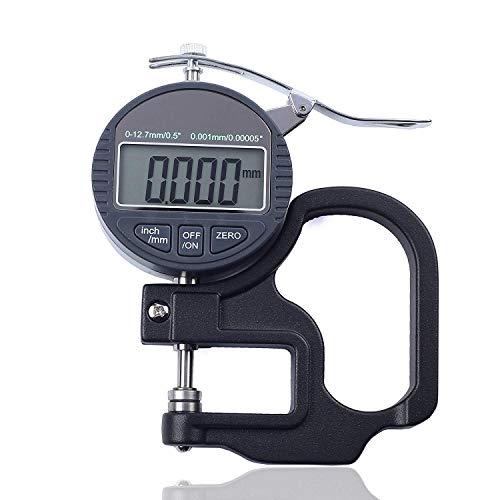 J&T 測定器 デジタルシックネスゲージ デジタル厚さ測定器 精度0.001mm 測定範囲0〜10mm 解像度0.001mm/0.0...