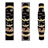 YSTHEZ Skateboard Grip Tape 33x 9 Pulgadas Longboard Griptape Impermeable Grip Tape Hoja Pegatina Pegatina Papel de Lija Griptape,J