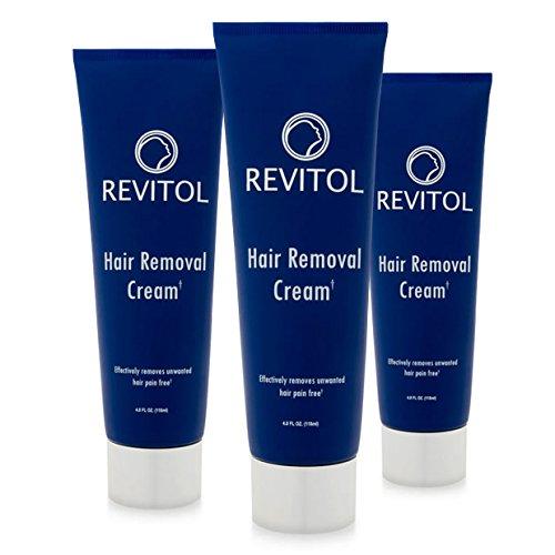 Revitol Hair Removal Cream (2 ~ 4 ounce Bottles)
