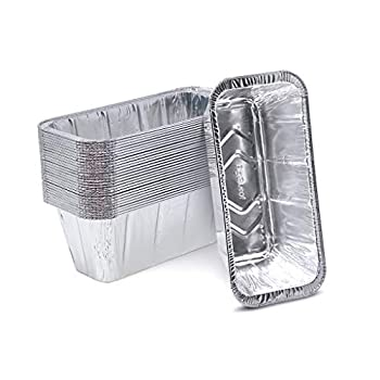 Fig & Leaf  30 Pack  Drip Pans Compatible with Blackstone Grills for 36 Inch l 30 Inch l 28 Inch l 22 Inch l 17 Inch Griddle l Rear Grease Cup Liners l Heavy-Duty Disposable Aluminum Foil