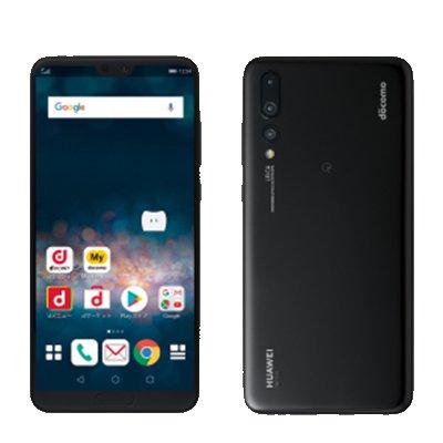 Huawei 【SIMロック解除済】docomo HUAWEI P20 Pro HW-01K Black