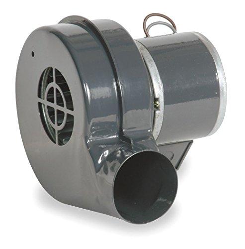 Dayton 1TDN6 Model Round Permanent Split Capacitor OEM Specialty Blower, Wheel Dia: 3', 115V,51 cfm,3105rpm