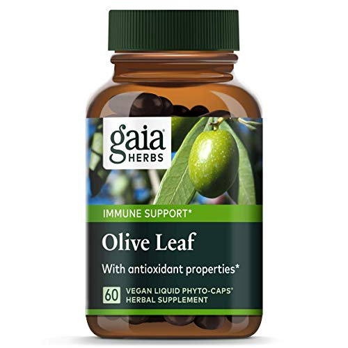 Olivenblatt, 60 Vegetarisch Flüssiges Phyto-Caps - Gaia Kräuter