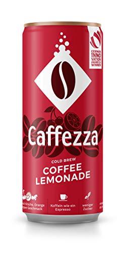 Caffezza Cold Brew Coffee Lemonade, 24er Pack, EINWEG (24 x 250 ml)