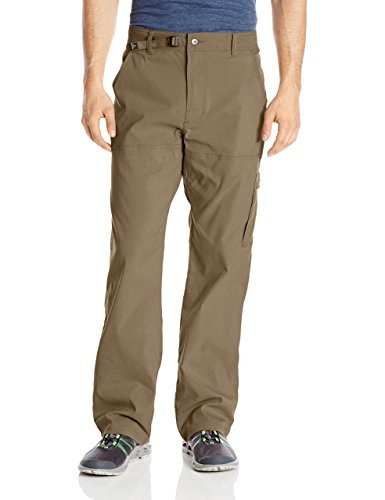 prAna Men's Standard Stretch Zion 30' Inseam, Mud, 34