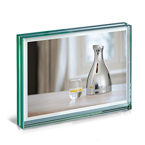 Philippi Raumduft Set-69222 Bilderrahmen, Glas, Schwarz, 13 x 18 cm quer