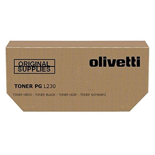 Olivetti B0708 Cartucho de tóner Original Negro 1 Pieza(s) - Tóner para impresoras láser (12000 páginas, Negro, 1 Pieza(s))