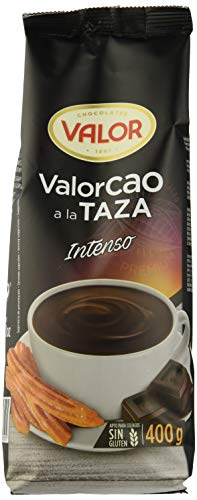 Valor, Chocolate a la taza Valorcao intenso - 12 de 400 gr. (Total: 4800 gr.)