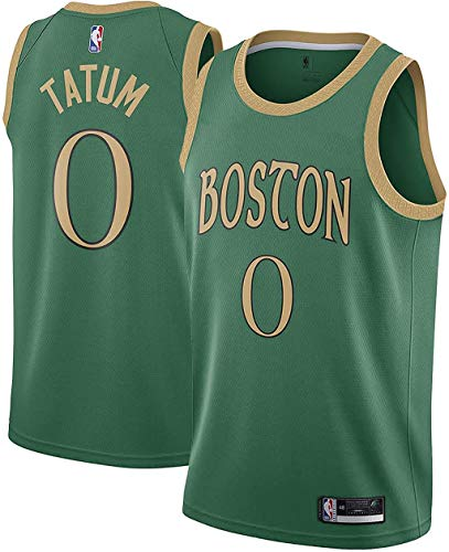 Outerstuff Jayson Tatum Boston Celtics #0 Green Youth 8-20 City Edition Swingman Jersey (14-16)