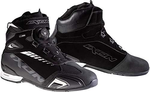 Ixon - Zapatillas deportivas impermeables (talla 42), color negro y blanco