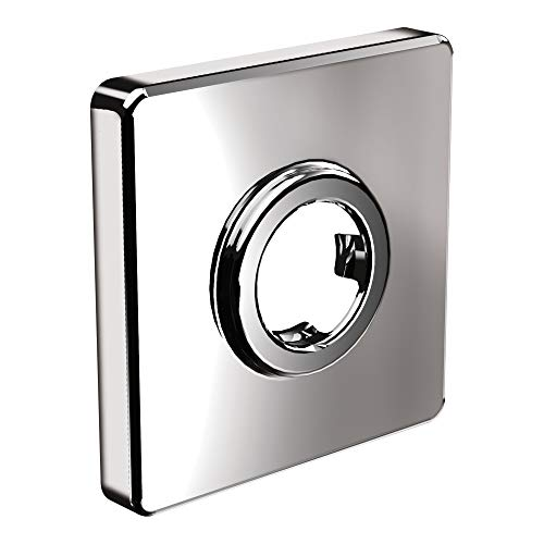 Moen 147572 Collection Square Shower Arm Flange, Small, Chrome
