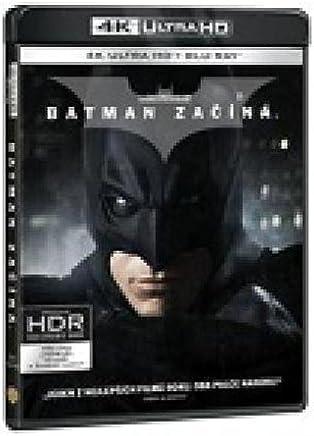 Batman zacina 3BD (UHD+BD+bonus disk) (Batman Begins) (Tchèque version)