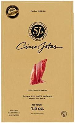Cinco Jotas Acorn Fed Premium Taste 100 Iberico Pork Shoulder Traditional Carving Cinco Jotas product image