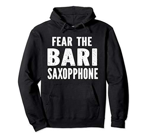 Fear The Bari Saxophone Pullover Hoodie