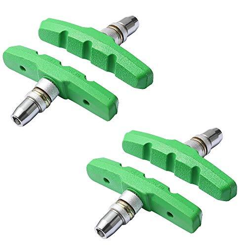 Icreopro 2 pares de frenos V-Brake de 74mm para bicicletas, perfectamente adecuados para Shimano, SRAM, Tektro, Avid y XLC UVM.