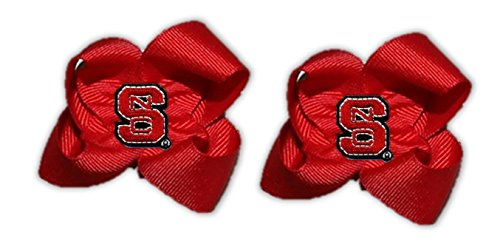 NC State Toddler Bow Pair