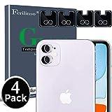 Ferilinso Vetro Temperato per Lente Fotocamera di iPhone 11 Vetro Temperato,[4pack] Film d...