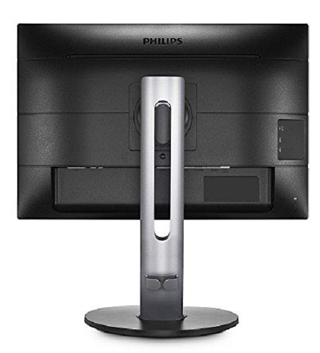 Philips 240B7QPTEB - 24 Zoll WUXGA Monitor, höhenverstellbar (1920x1200, 60 Hz, VGA, HDMI, DisplayPort, USB Hub) schwarz