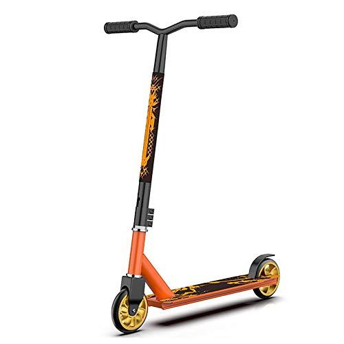 LIYANJJ Scooters, Scooters Deportivos Lean to Steer Balance Bike Cubierta de aleación con Ruedas de Alto Impacto Guardabarros Trasero Break para Unisex