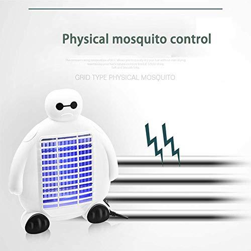 MJY Lámpara mosquito Lámpara portátil anti-mosquito Lámpara anti-mosquito asesino Lámpara de dibujos...