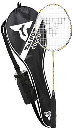 Talbot-Torro Badminton-Starterset Isoforce 311.6, 100% Graphit, One Piece Bauweise, 3er Dose Tech 350 Bälle, 439530