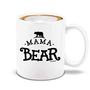 Shop4Ever Mama Bear Novelty Ceramic Coffee Mug Tea Cup Gift ~ Mother's Day ~