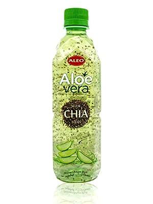 ALEO Aloe Vera drink with Chia seeds 500ml X 24 from ALEO