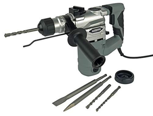 Brüder Mannesmann Werkzeug Mannesmann Bohr-und Meisselhammer mit SDS Aufnahme 1.500 Watt, M12597, 230 V, 1500 W