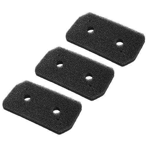 vhbw 3x filtro espuma compatible con Bosch WTH85200ES/04, WTH85200OE/01, WTH85200OE/03, WTH85200OE/04 secadoras ropa - Filtro de repuesto (set)