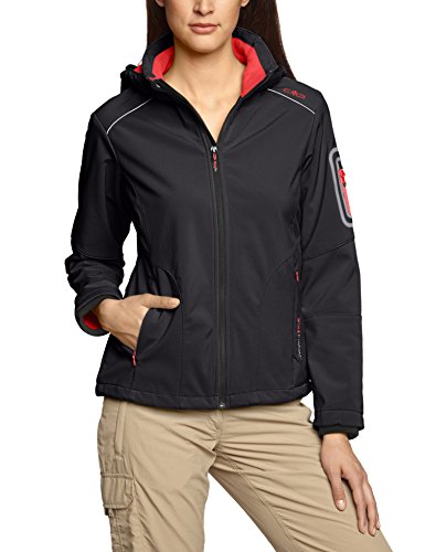 CMP Women's Hooded Softshell Jacket (3A05396 528P) GR. 36