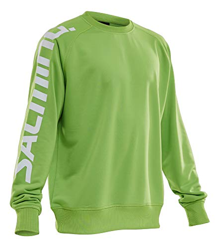 Salming Logo Warm Up Jersey SR Lime Green XL